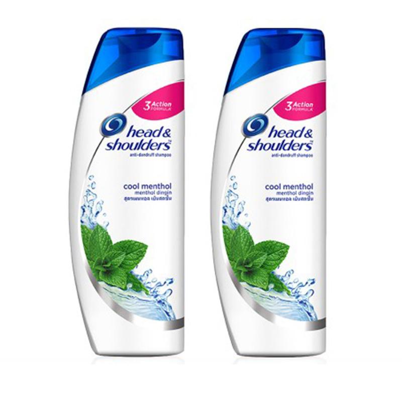Head & Shoulders TWIN PACK Shampoo Cool Menthol 330 ml