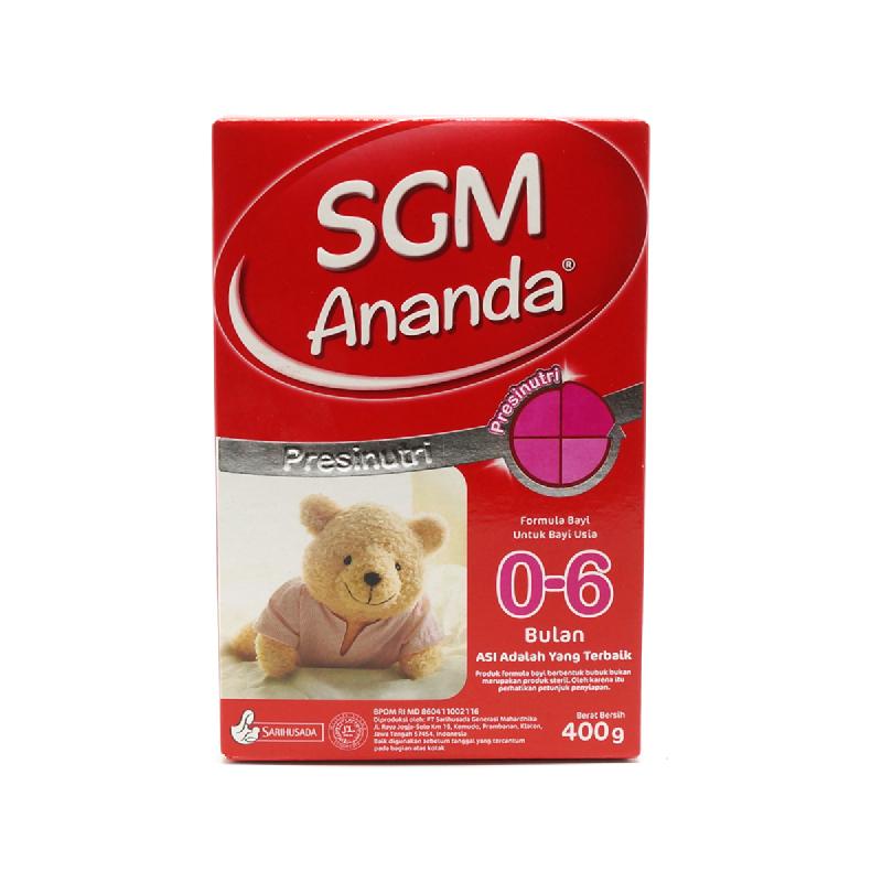 Sgm Ananda 0-6 Bulan Box 400g
