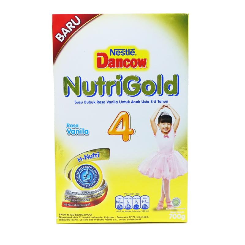 Dancow Nutrigold 4 Vnl Box 700gr