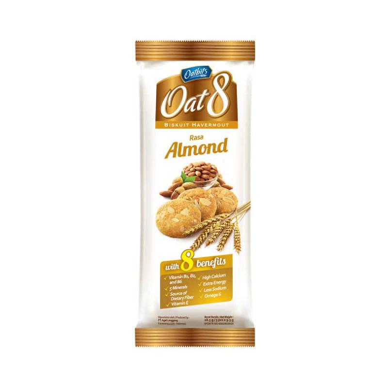 Oatbits Oats 8 Almond 28.5 Gr