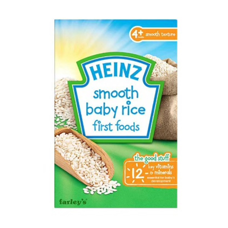 Heinz First Foods Smooth Baby Rice 100Gr