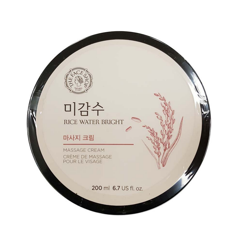 The Face Shop Rice Water Bright Massage Cream 200ml