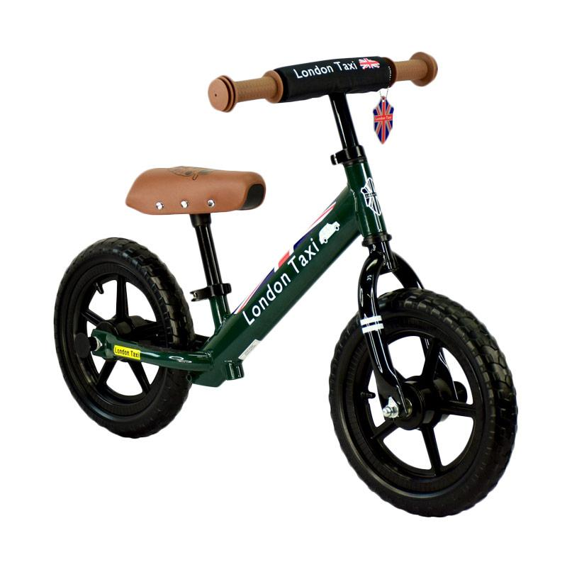 London Taxi Kickbike Sepeda Anak - Green
