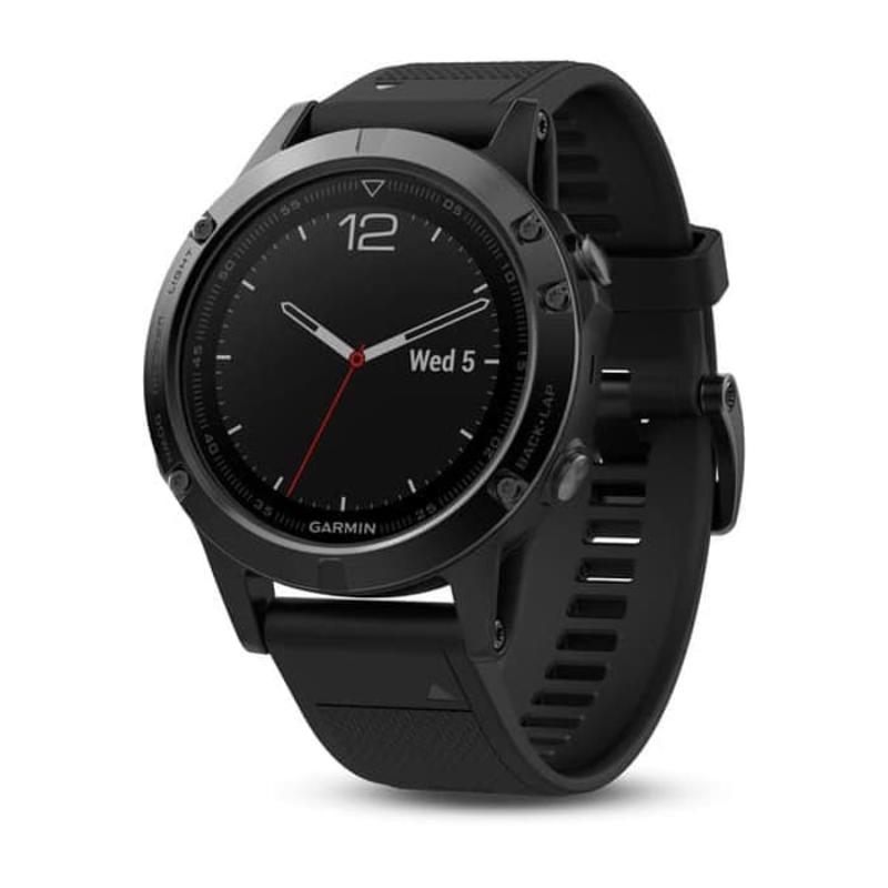 Garmin smartwatch Fenix 5 sapphire Hitam