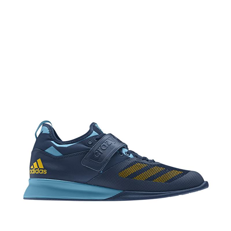 Adidas Combat Crazy Power New Blue Yellow