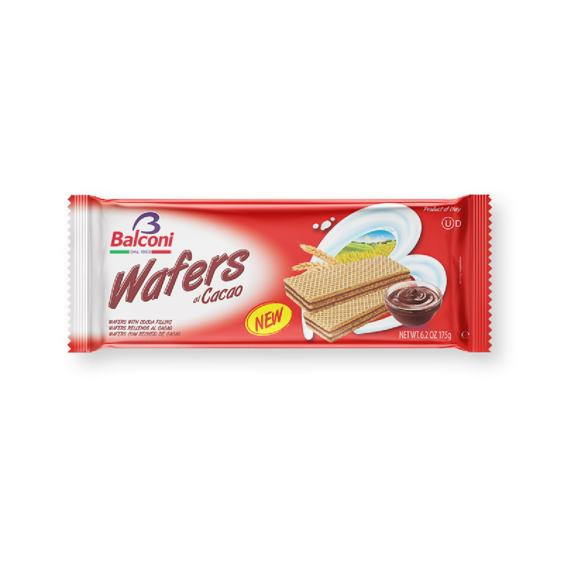 Balconi Cubi Wafer Cokelat 175g