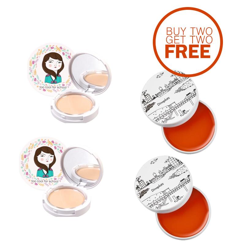 TCFS Buy 2 Get 2 Free Photoready Pact + Dinoplatz Lip Balm