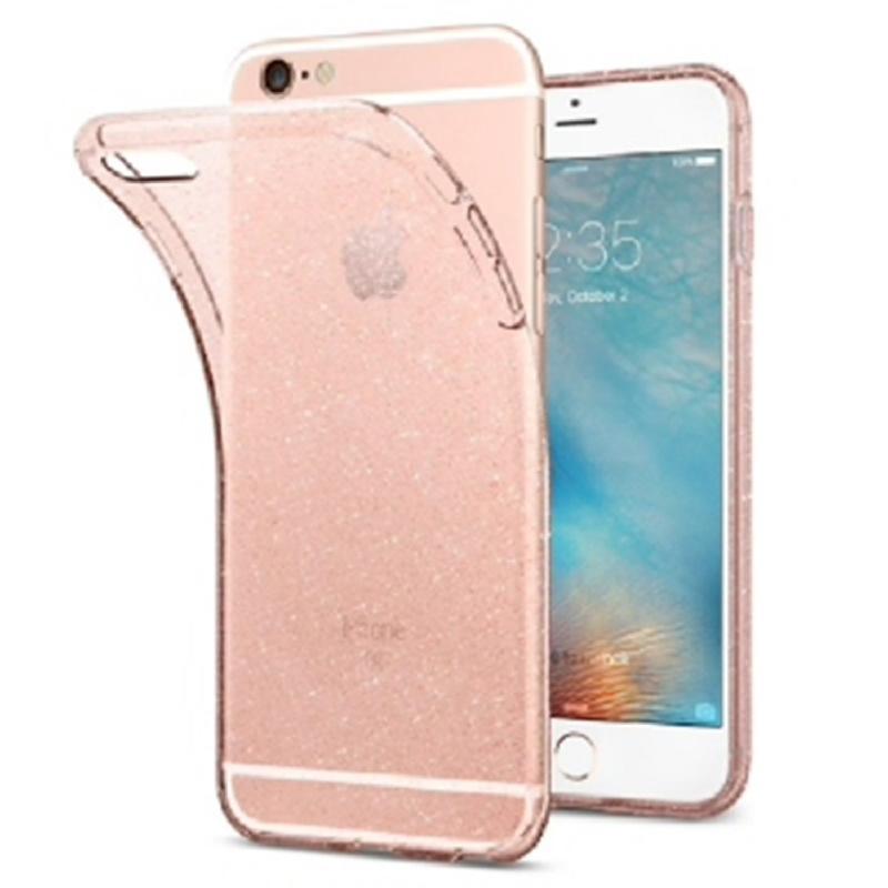 Spigen iPhone 6 Plus, 6S Plus Case Liquid Crystal - Rose Quartz