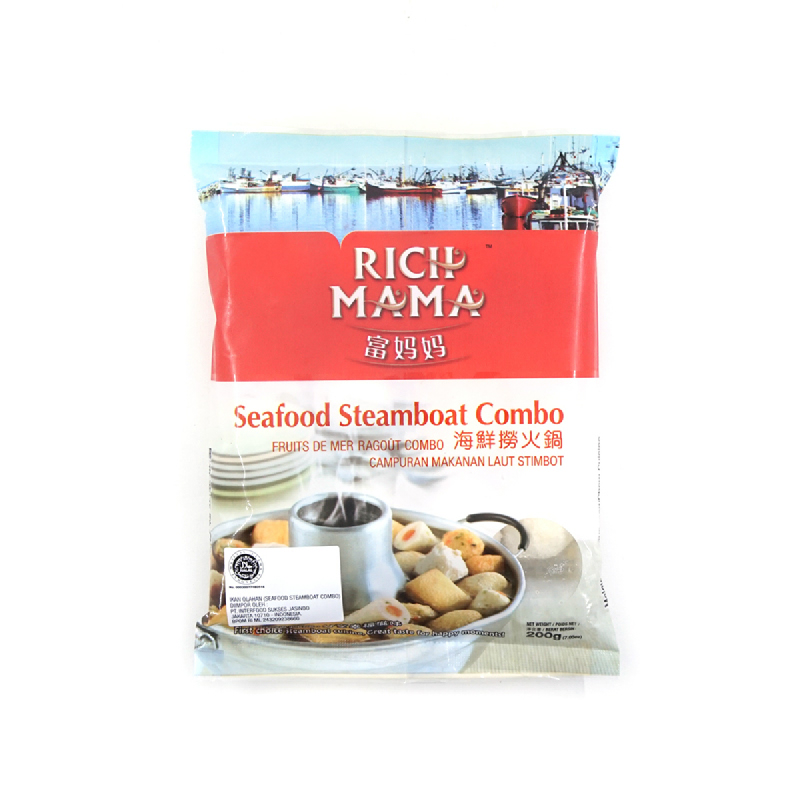 Rich Mama Seafood Steamboat Combo 200 Gr