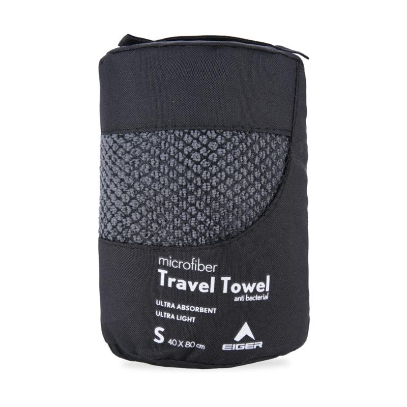 Eiger Travel Towel - Grey