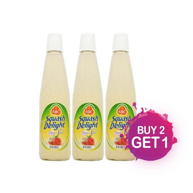 Abc Squash Sirup Lychee Botol 460 Ml (Buy 2 Get 1)