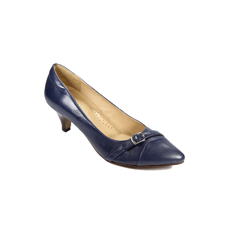 Andre Valentino Pump Shoes Navy
