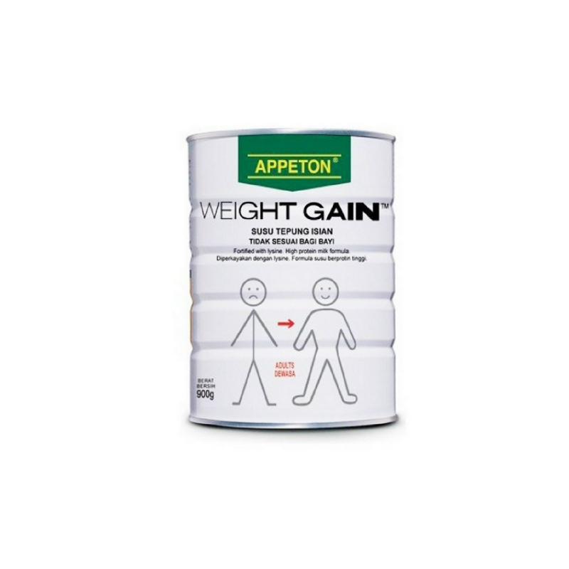 Appeton Powder Milk Weight Gain Adult 900G