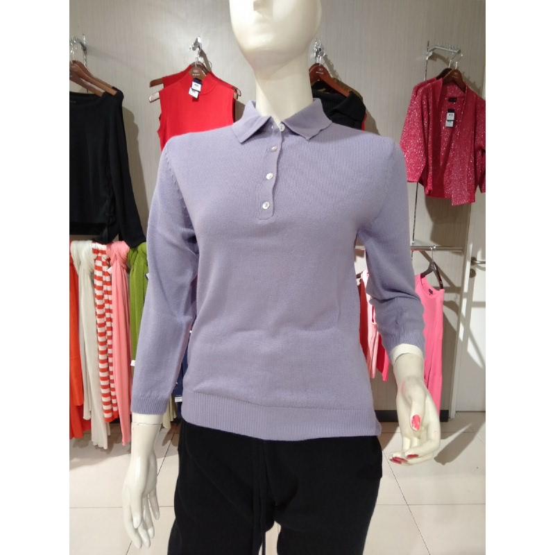 Noir Sur Blanc Polo Purple