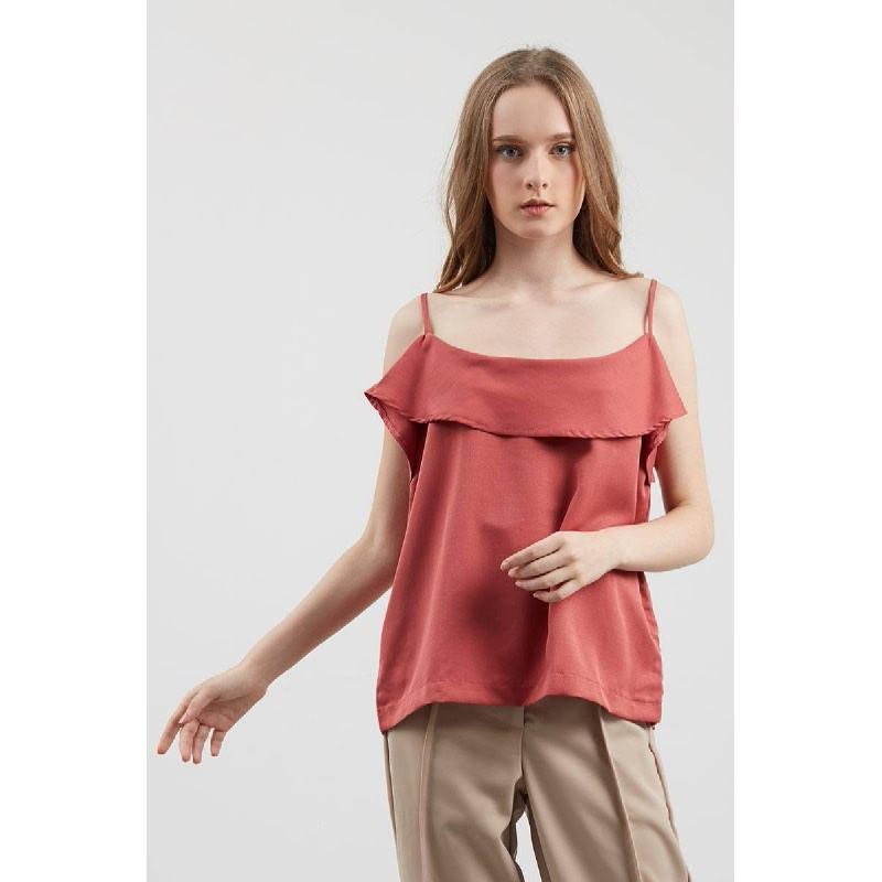 Elanna Top Red