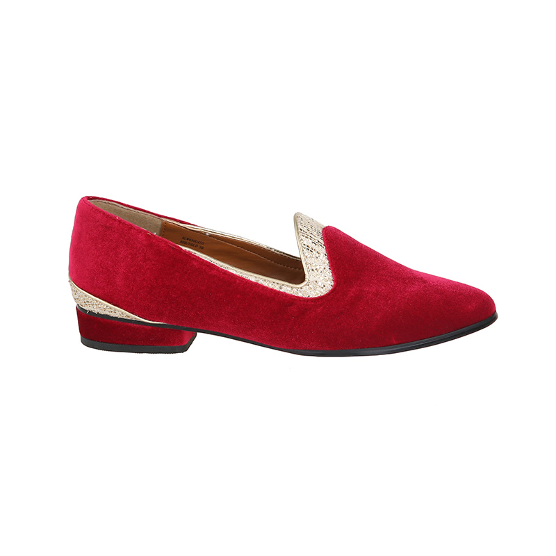 Red & Gold Loafer