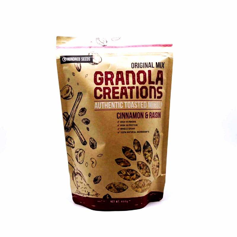 Granola Cinnamon & Raisin Original Mix 400 Gr