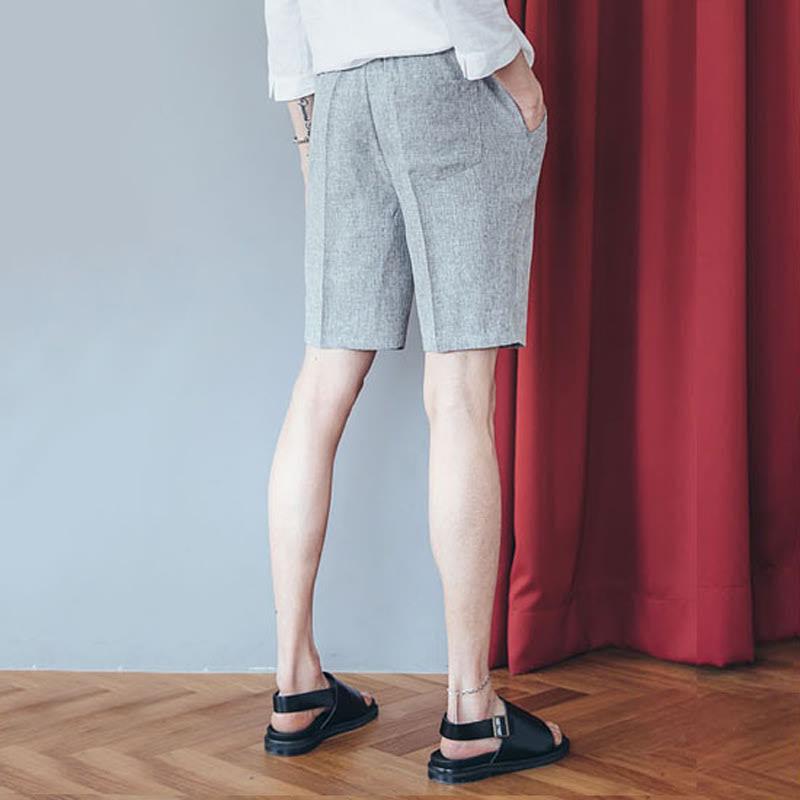 Dear Bokashi Cool Slacks - Light Grey