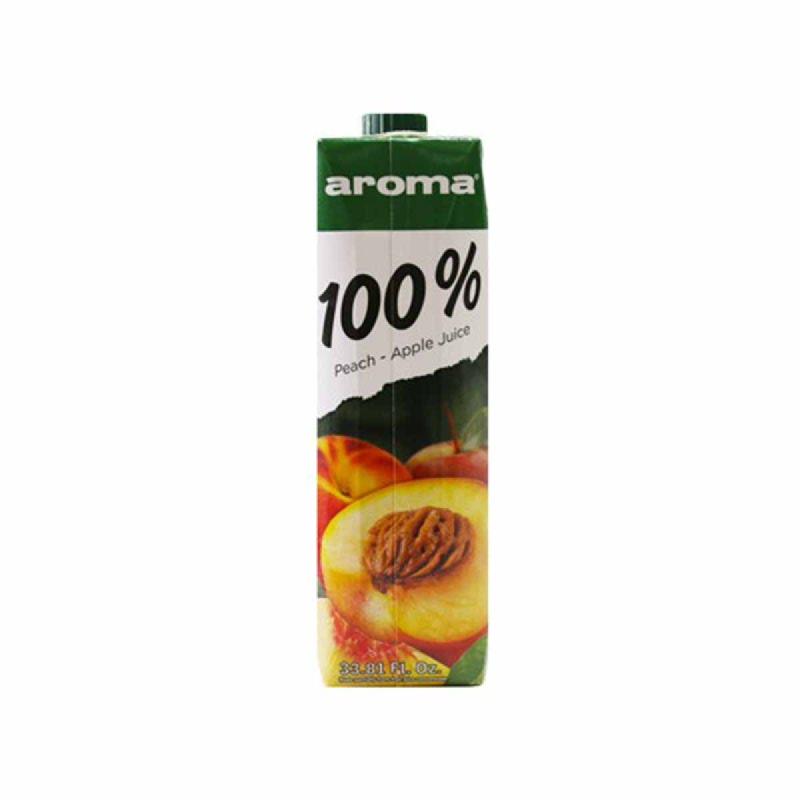 Aroma Peach & Apple Juice 1000 Ml