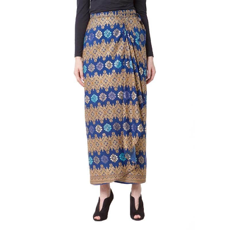 Raden Sirait Skirt Rempel Kaysa Blue
