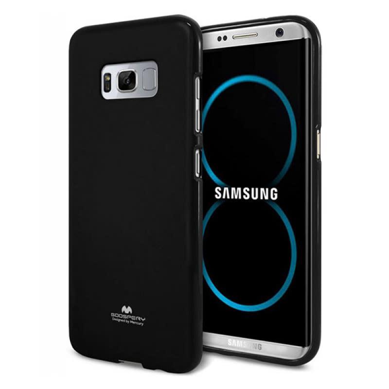 Goospery Jelly Case Samsung Galaxy S8+ Hitam