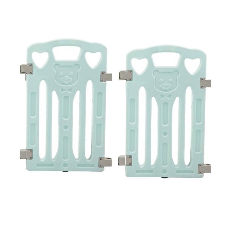 Coby Haus Bear New Minipack Pagar Pengaman Bayi - Blue