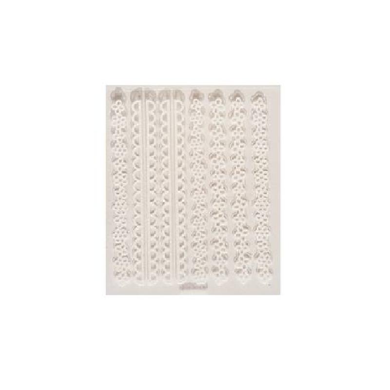 Luminous Silk Ladies Nail Sticker