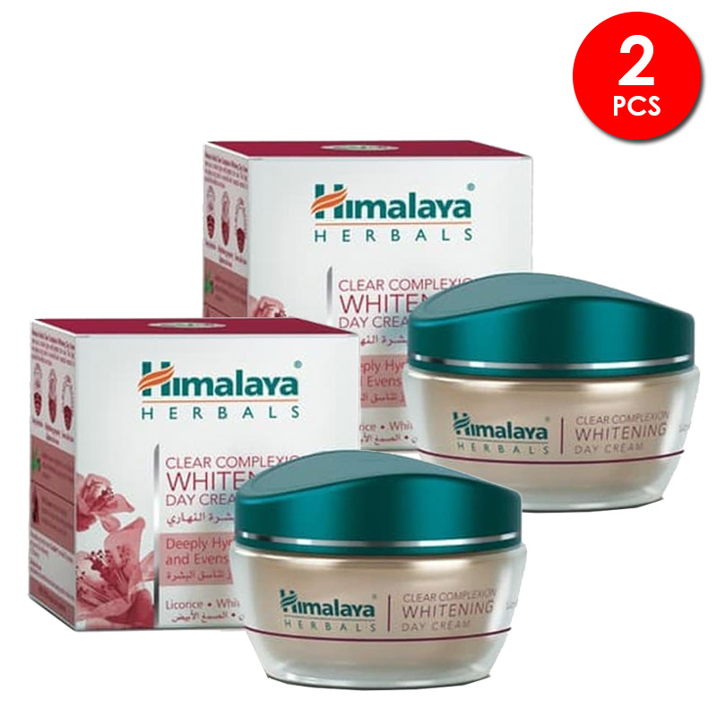 Himalaya Clear Complexion Whitening Day Cream 50 Gr 2pcs