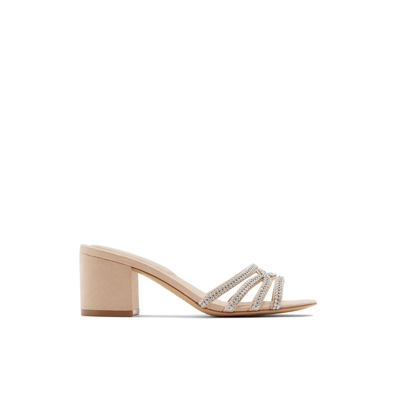 Aldo Ladies Block heels CHINIEL-32-270 Bone
