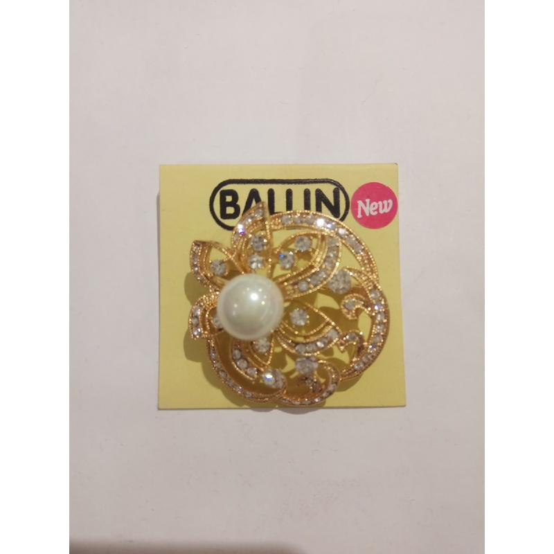 Ballin Women Brooch LF-BRBR11574F8G Gold
