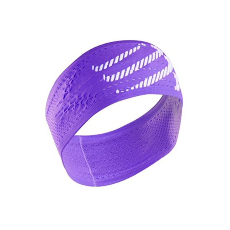 COMPRESSPORT Headband On Off Purple