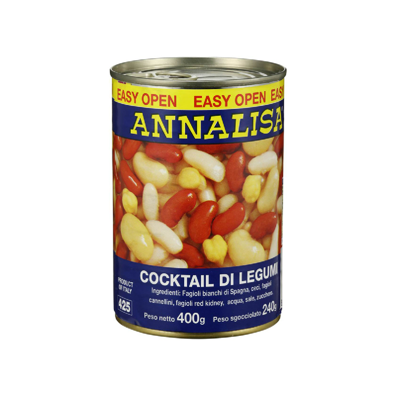 Annalisa Four Beans Mix 400G