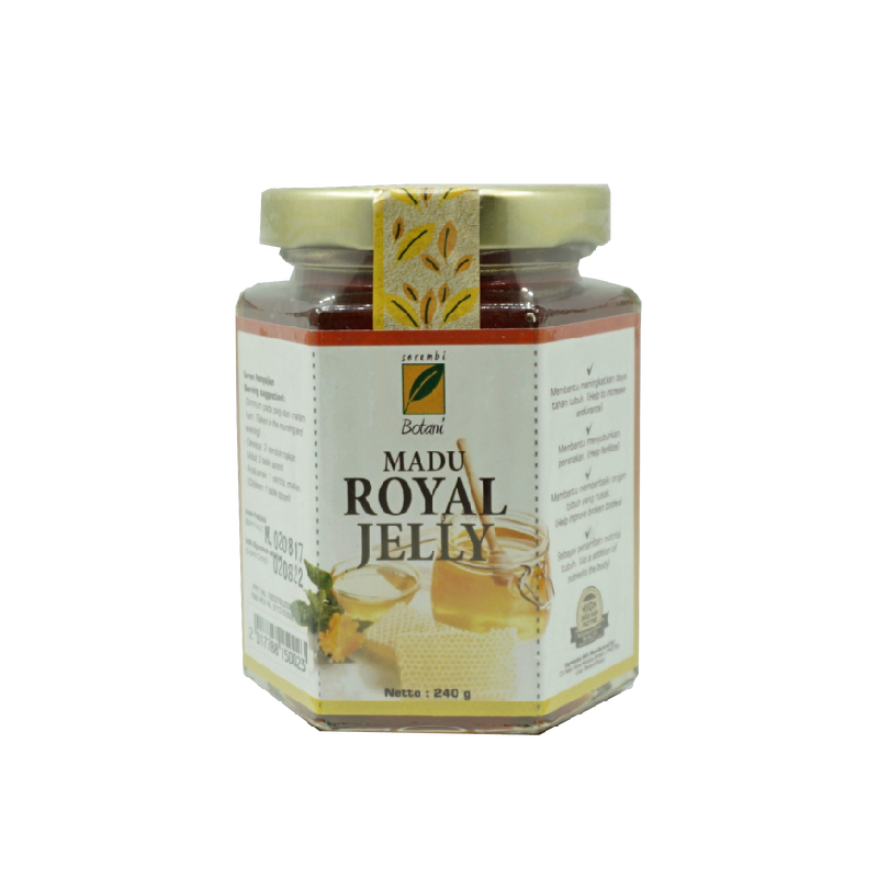 Madu Royal Jelly 240 gr