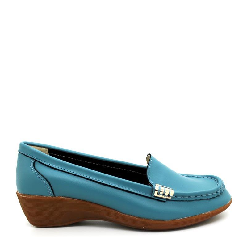 Anca Flat Shoes 7126 Blue