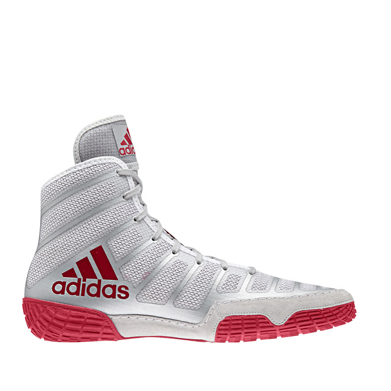 Adidas Combat Varner Silver Red White