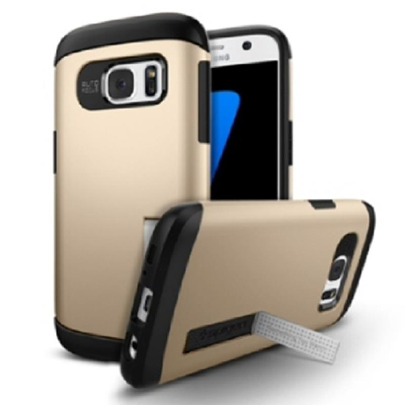 Spigen Galaxy S7 Case Slim Armor - Champagne Gold