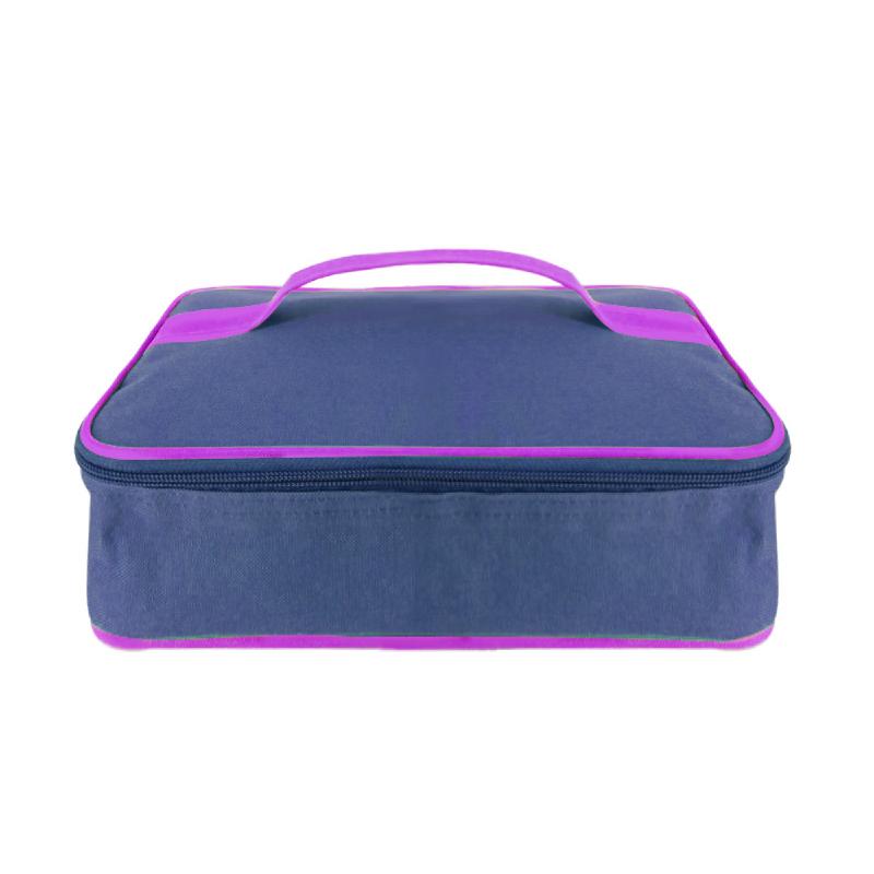 Hanna Tas Lunch Box Lunch Bag 27x18x12 cm - Biru
