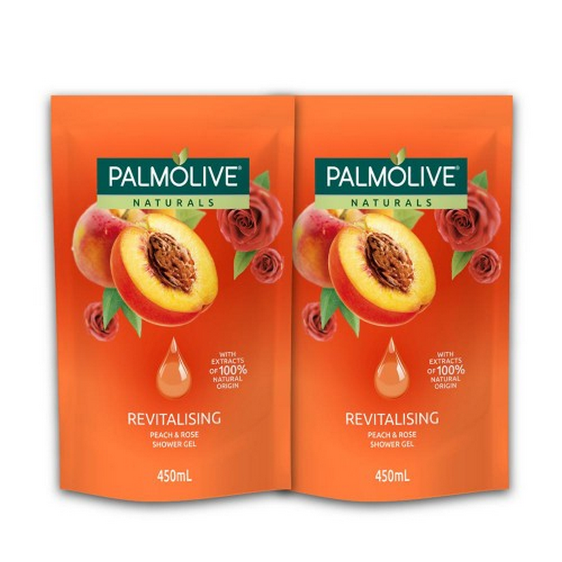 Twin Pack Palmolive Aroma Therapy Revitalising 450 ml