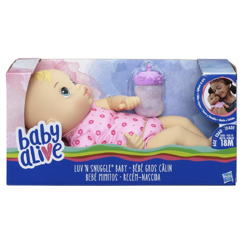Baby Alive Luv N' Snuggle Baby (Blonde)