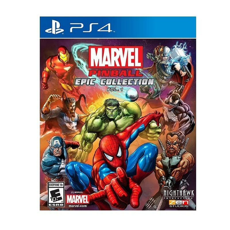 Sony PlayStation Marvel Pinball Epic Collection Vol. 1 Reg All PS 4