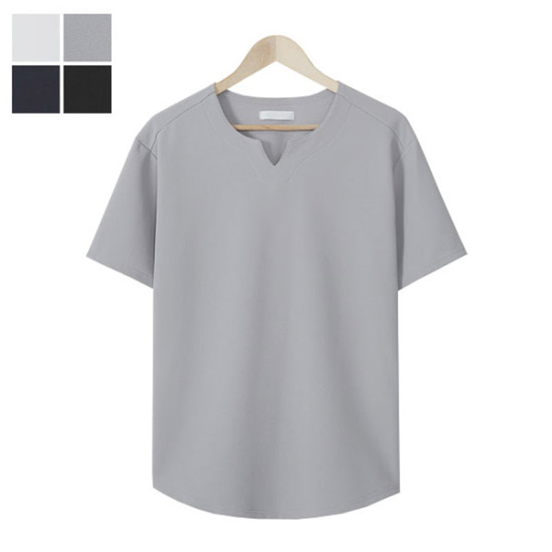 RG_Classic Vent Short Sleeve T-shirt - Grey