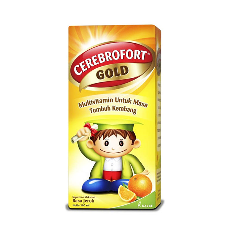 Cerebrofot Gold Orange 100ml