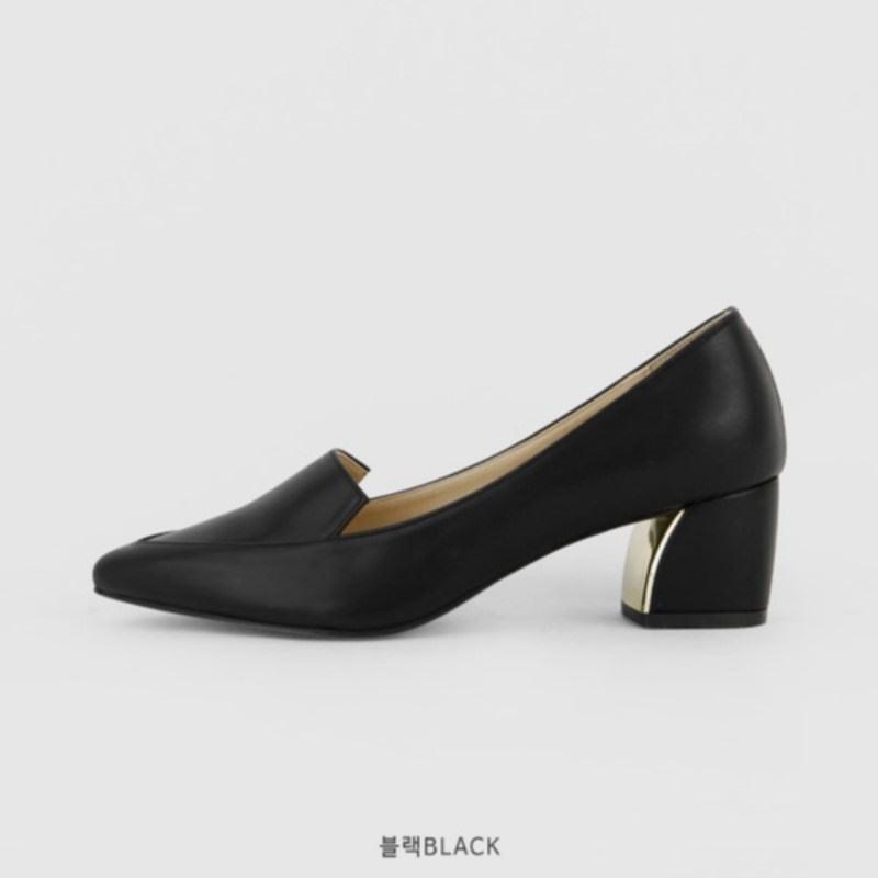 Newkid Stiletto Mid Heel (5cm) Black