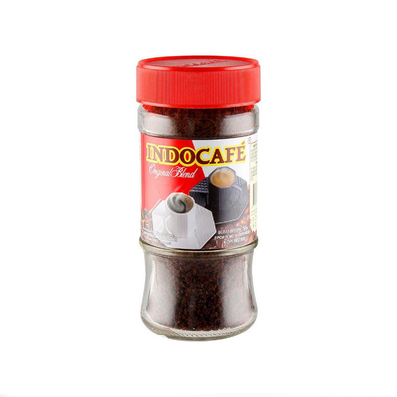 Indocafe Original Blend 50 Gr Botol