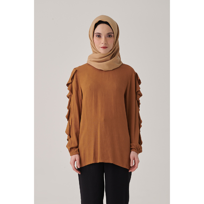 Suqma Elle Blouse Maple Brown