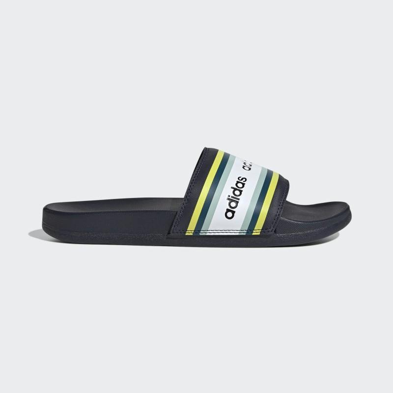 Adidas Farm Rio Adilette Comfort Slides EH0033 Legend Ink