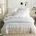 Sleep Buddy Set Sprei dan Bed Cover Soft Line Organic Cotton 180x200x30