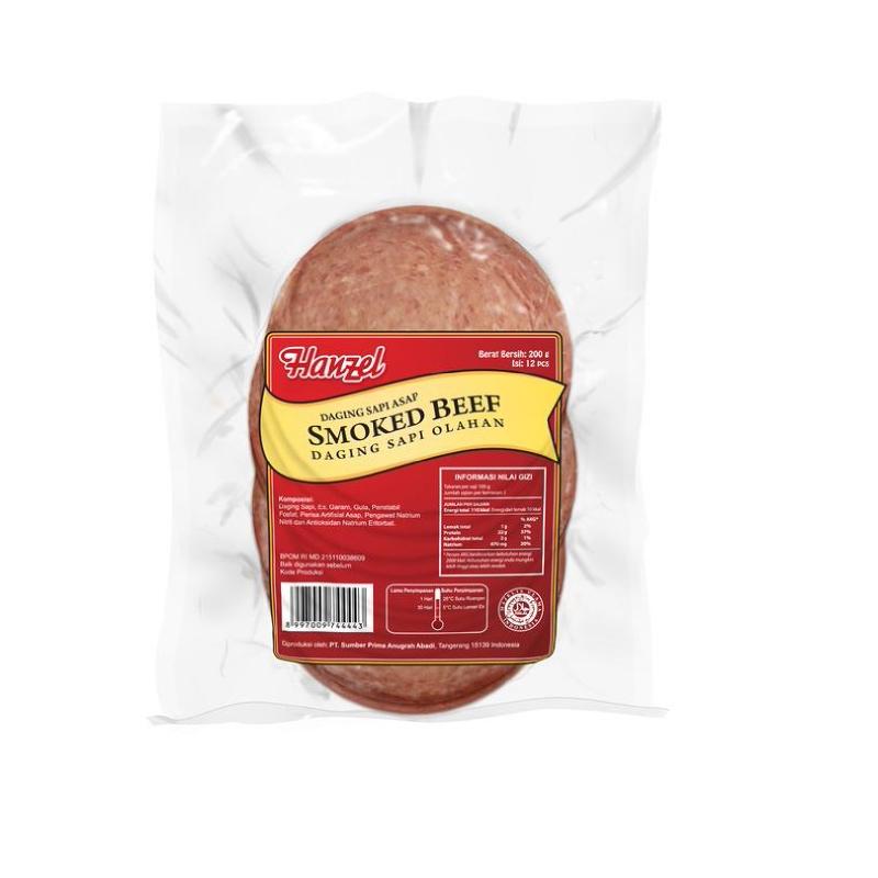 Hanzel Smoked Beef 200Gr