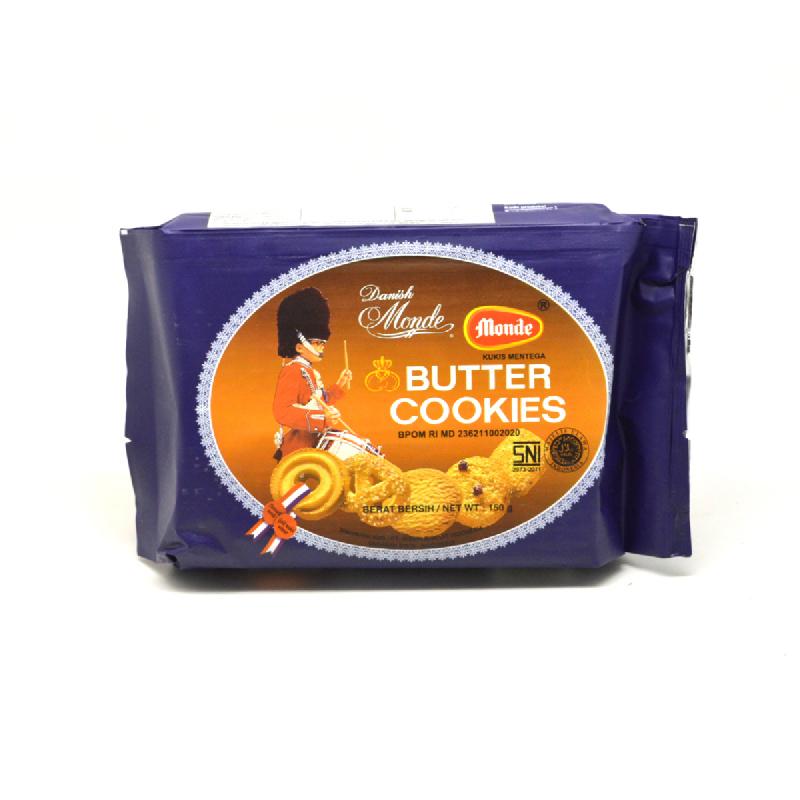 Monde Butter Cookies Pak 150G