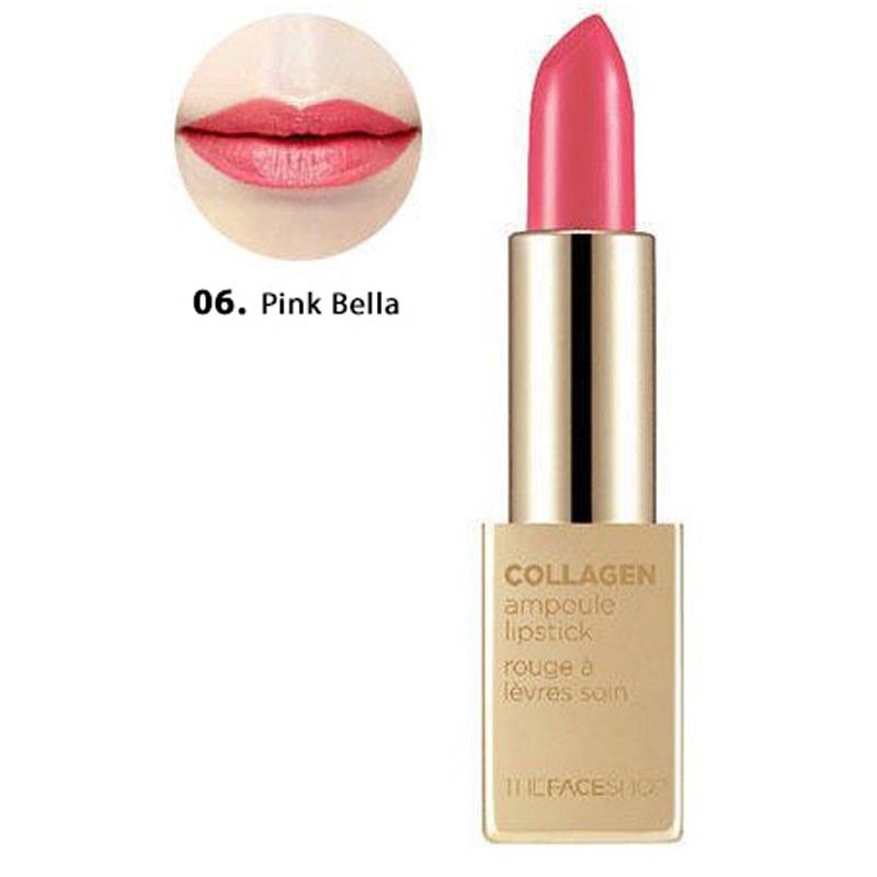 The Face Shop Collagen Ampoule Lipstick 06